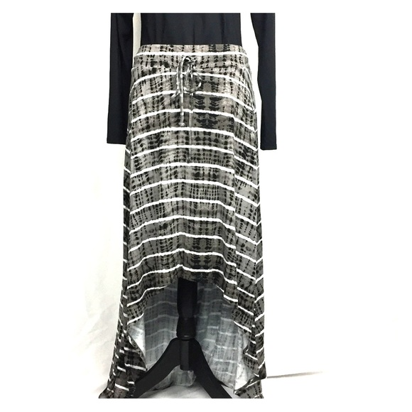 26c2764147 TORRID tie-dyed striped high low maxi size 1 14/16.  M_5b7d0b145a9d21bbaafe6ed6